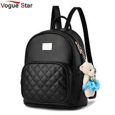 Vogue Star <b>2019 Fashion Women Backpack</b> For Girls Backpacks ...
