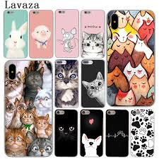 top 9 most popular <b>cute cat</b> hard plastic case cover for apple iphone ...