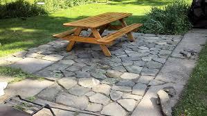 stone patio installation:  fabulous flagstone patio installation also home interior remodel ideas with flagstone patio installation