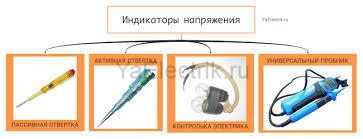 <b>Индикатор напряжения</b>: разновидности устройств и правила их ...
