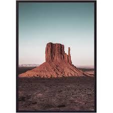 <b>Постер в рамке Дом</b> Корлеоне Гора Аризона 30x40 см