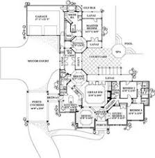 images about L shaped houses on Pinterest   L shaped house    houseplans com  L shaped home  Courtyard