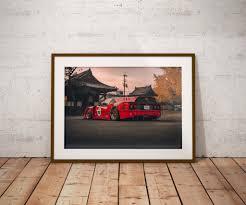 <b>Ferrari F40</b> Shooting Brake - Concept Render by Khyzyl Saleem ...