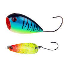 <b>1PCS 8cm 13g</b> colorful trout lure fishing spoon lure 2.5g single hook ...