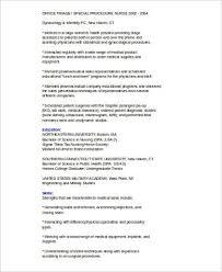 Sample Medical Sales Resume      Examples in Word  PDF Sample Templates