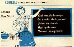 Image result for 1950s mother daughter kitchen