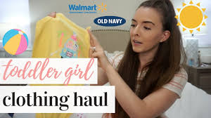 <b>TODDLER GIRL</b> CLOTHING HAUL <b>2019</b> | <b>SUMMER</b> WARDROBE ...