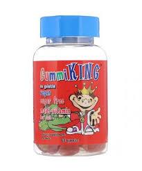 GummiKing <b>Sugar</b>-<b>Free Multi</b>-<b>Vitamin</b> For Kids 60 Gummies