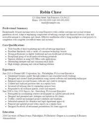 account executive resume objectives resume sample objective resume sample