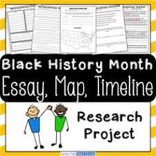 timeline create a timeline and student on pinterest black history month research project   students research a famous african american and create an essay