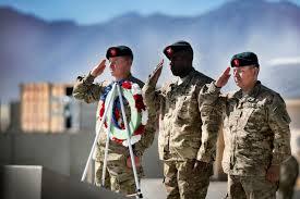 u s department of defense photo essay u s army command sgt maj brian edwards right u s army col