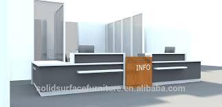 artificial marble top modern boutique cashier counter design boutique reception counter