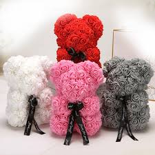 25 см мультфильм Медведь <b>Искусственные цветы декоративный</b> ...