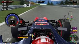 rfactor f1 2011 onboard drs kers red bull ring austria 2011 driver virtual eder belone austria view red bull