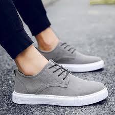 Spring Massage Breathable Sweat Men Shoes-Flat-<b>LAISUMK</b>-Black ...
