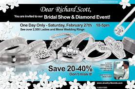 jewelry sample ads adverts advertisements jewelry secrets bridal show diamond event sample ad