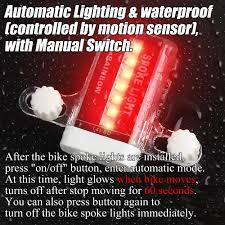 DAWAY <b>LED Bike Spoke Lights</b> - A12 Waterp- Buy Online in ...