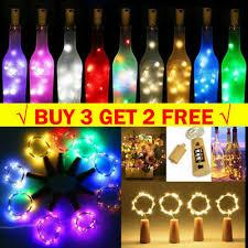 2M <b>20 LED</b> Cork Lights on a <b>String</b>, Bottle Stopper Fairy Lights For ...