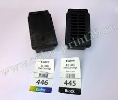 Как заправить оригинальные <b>картриджи CANON PG-445 CL-446</b> ...