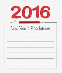 career management goals vs resolutions a blue ribbon resume 2016 new year resolution on white paper pencil and drawing
