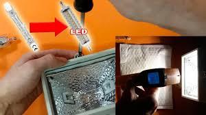 <b>R7S LED Light Bulb</b> | Unboxing & disassembly <b>LED R7S lamp</b> ...