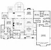 Amazing Big House Plans   Big House Floor Plan House Designs And        Superb Big House Plans   One Story House Plans With Porches