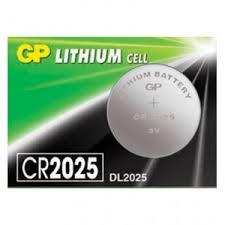 <b>Батарейка GP</b> Lithium, <b>CR2025</b>, литиевая, 1 шт., <b>CR2025</b>-<b>7C5</b>