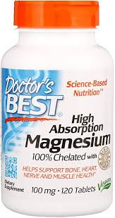 High Absorption Magnesium Doctors Best 120 Tabs ... - Amazon.com