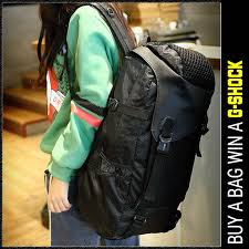 mc286 - Charcoal Black Cool Adventure Large Backpack / Hiking ...