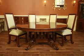 round dining table base:  dining table  round mahogany dining table formal dining furniture walnut base  round dining