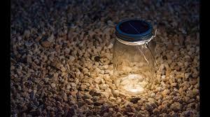 Consol Solar Jar - <b>Solar Powered LED Light</b> - YouTube