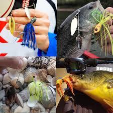 Goture <b>1pc</b> 10g/14g Lead Head <b>Spinner Bait Fishing</b> Lure with ...