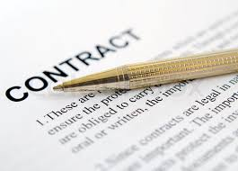 Image result for signing a contract