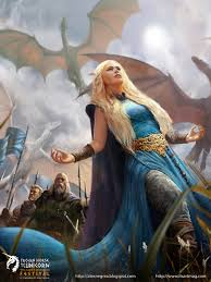vii the wedding of ice and fire weirwood leviathan daenerys and her dragons bring the fire of conquest