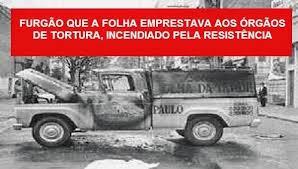 Resultado de imagem para Folha+ditadura