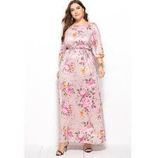 Платье размера плюс, женское, элегантное, sukienka, макси ...