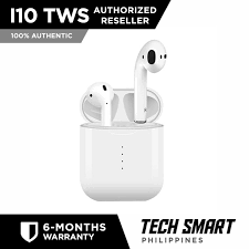 <b>Original i10 TWS Bluetooth</b> Earphones AirPod Style True Wireless ...