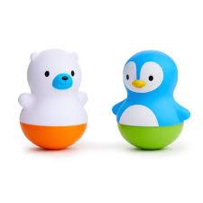 Munchkin <b>игрушки для ванны поплавки</b> Медведь и Пингвин Bath ...