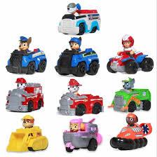 <b>Genuine Paw Patrol</b> Dog Parking Lot Puppy Patrol Car Toy Set ...