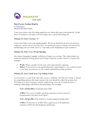 cover letter monster template cover letter monster
