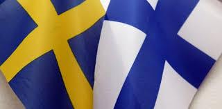Bildresultat för suomen ja ruotsn lippu
