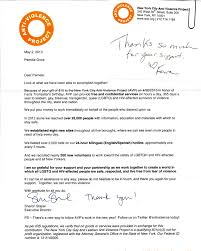 nonprofit thank you letter thank you letter  nonprofit thank you letter