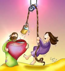 Resultado de imagen de jesús y la samaritana