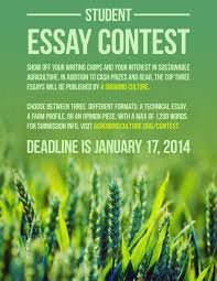 a growing culture writing contest deadline jan lfs do you have a passion for ecological agriculture and innovation write about a topic that matters to you and be entered for a chance to win a cash prize and
