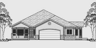 Narrow Lot House Plans  Building Small Houses for Small Lots One level house plans  side view house plans  narrow lot house plans