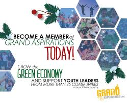 membership grand aspirations is a member led organization that empowers youth leaders across the country to build sustainable communities if you or someone in your