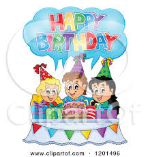 Image result for happy birthday  cake cartoon