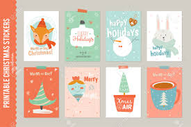 collection of 8 christmas gift tags and cards templates christmas collection of 8 christmas gift tags and cards templates christmas beautiful cheerful posters set
