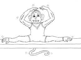 Gymnastics Coloring Sheets Great How Make A Coloring Page From Picture