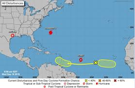 Tropical Storm Jerry will soon be a hurricane with its track toward ...